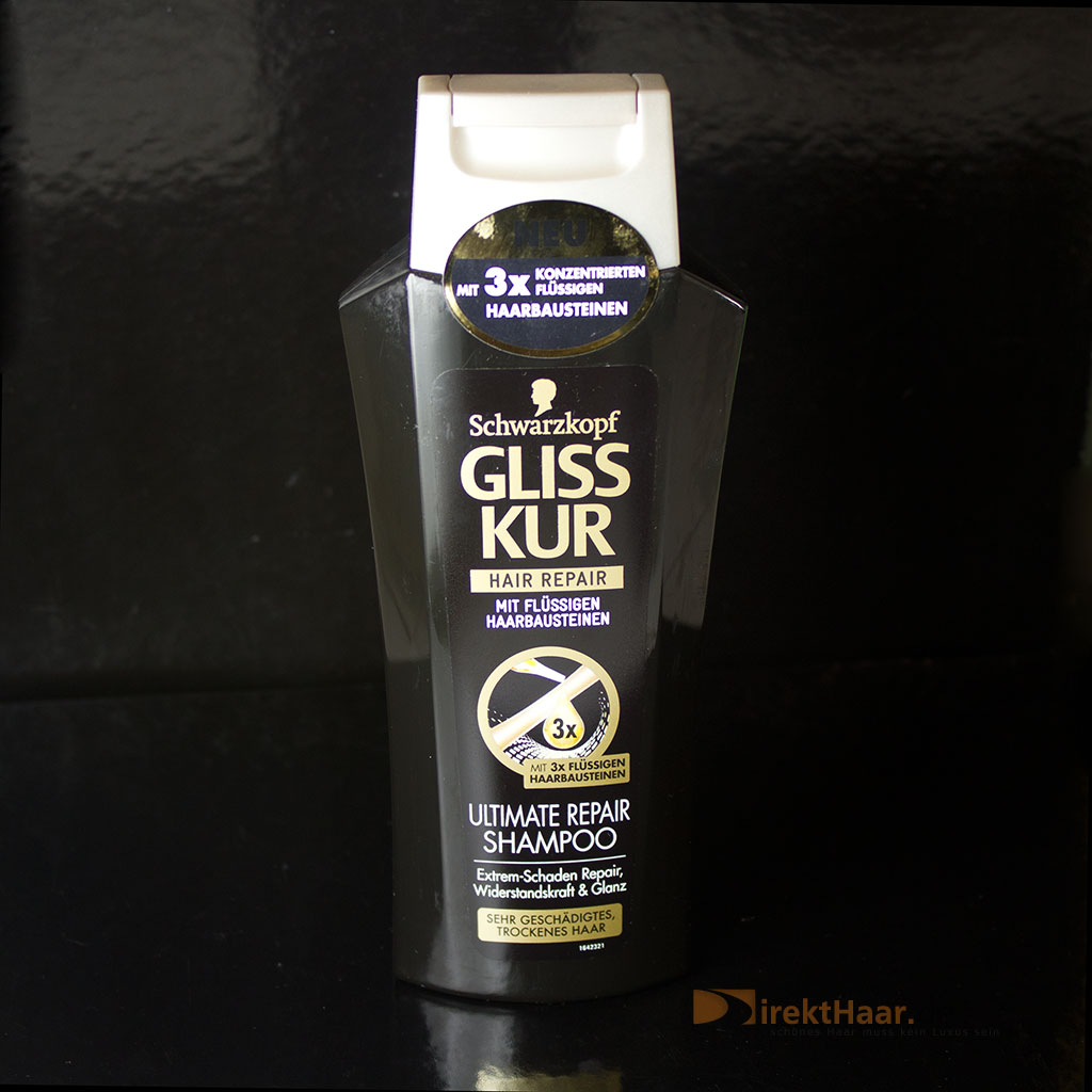 produkttest schwarzkopf gliss kur ultimate repair shampoo. Black Bedroom Furniture Sets. Home Design Ideas