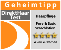 Produkttest Pure & Basic Waschlotion Sensitiv Siegel