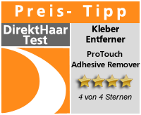 Kleberentferner Pro Touch Adhesive Remover Testlogo