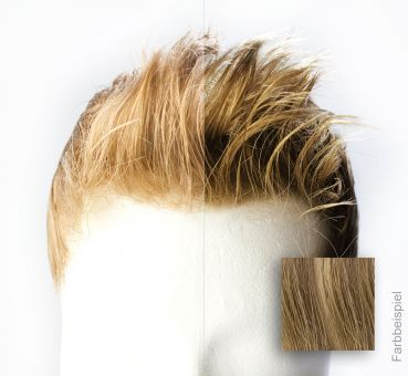 Monofilament - French Lace Toupet - Farbe #20 Blond