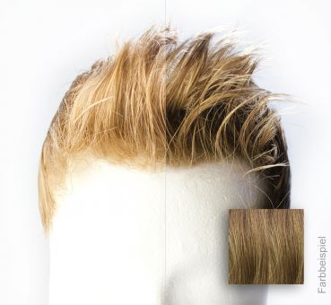 Monofilament - French Lace Toupet - Farbe #10R Dunkel Mittelblond