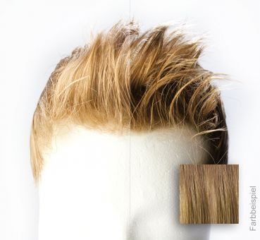 Monofilament - French Lace Toupet - Farbe #8R Dunkelblond