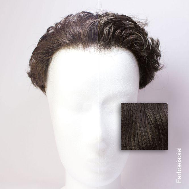 Thin Skin Toupet - Farbwahl Maßanfertigung
